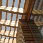 Détail structure et bardage bois